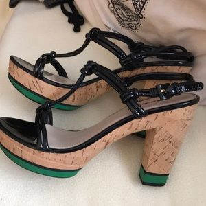 Prada Shoes - Prada heel sandals